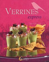 Verrines express - Couverture - Format classique