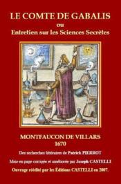 Le comte de Gabalis ou entretien sur les sciences secrètes - Couverture - Format classique