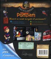 Incroyables pompiers - 4ème de couverture - Format classique