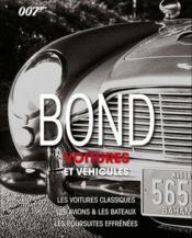 Bond voitures et vehicules - Couverture - Format classique