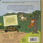 Les animaux du monde - 4ème de couverture - Format classique