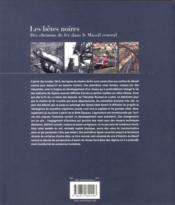 Les bêtes noires ; des chemins de fer dans le Massif central - 4ème de couverture - Format classique