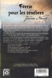 Féerie pour les ténèbres; intégrale t.2 - 4ème de couverture - Format classique
