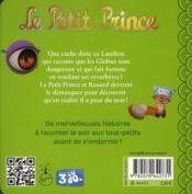 Le petit prince t.5 ; le vendeur de réverbères - 4ème de couverture - Format classique