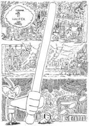 Canne de fer et Lucifer - Couverture - Format classique