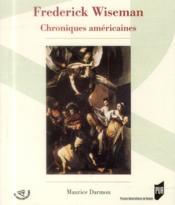 Frederick wiseman - Couverture - Format classique