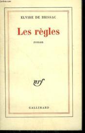 Les Regles. - Couverture - Format classique