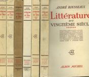 Litterature Du Vingtieme Siecle. En 6 Tomes. - Couverture - Format classique