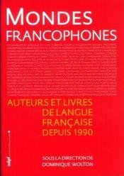 Mondes francophones - Intérieur - Format classique