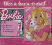 Barbie bloc à dessin récréatif - Couverture - Format classique