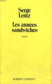 Les Annees Sandwiches. - Couverture - Format classique