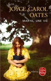 Marya, une vie - Couverture - Format classique