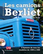 Les camions Berliet - Couverture - Format classique