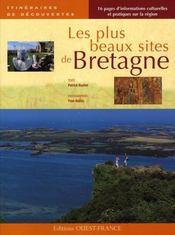 Les plus beaux sites de Bretagne - Intérieur - Format classique