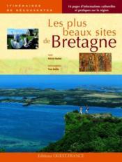 Les plus beaux sites de Bretagne - Couverture - Format classique
