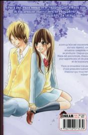 I love Hana-kun T.3 - 4ème de couverture - Format classique