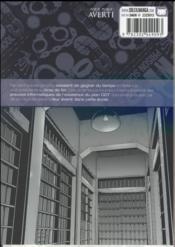 Prison school T.7 - 4ème de couverture - Format classique