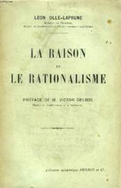 La Raison Et Le Rationalisme - Couverture - Format classique