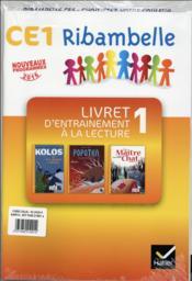 Ribambelle ; CE1 ; cahier d'activités t.1 ; livret d'entraînement - 4ème de couverture - Format classique