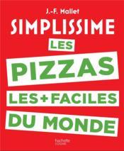 Simplissime pizzas - Couverture - Format classique