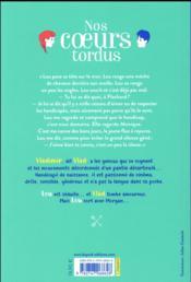 Nos coeurs tordus - 4ème de couverture - Format classique
