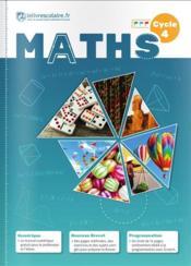 Mathématiques ; cycle 4 (édition 2016) - Couverture - Format classique