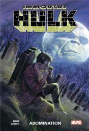 Immortal Hulk T.4 ; abomination - Couverture - Format classique