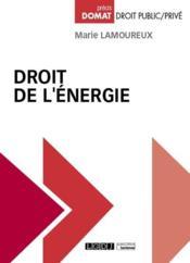 Droit de l'énergie - Couverture - Format classique