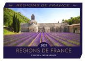 Agenda panoramique ; régions de France (édition 2021) - Couverture - Format classique