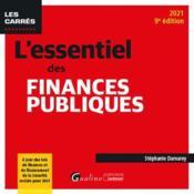 L'essentiel des finances publiques (édition 2021) - Couverture - Format classique