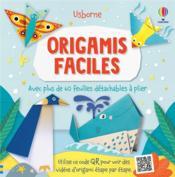 Origamis faciles : avec plus de 60 feuilles détachables à plier - Couverture - Format classique