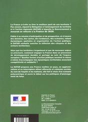 Amenager la france de 2020 ; mettre les territoires en mouvement - 4ème de couverture - Format classique