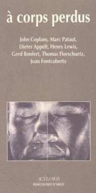 A corps perdu - Couverture - Format classique