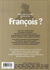 L'encyclopédie des prénoms t.19 ; françois - 4ème de couverture - Format classique