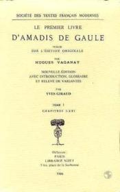 Le premier livre d'amadis de gaule - Couverture - Format classique