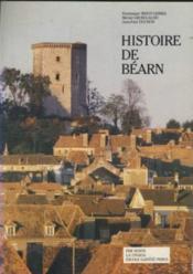 Histoire De Bearn - Couverture - Format classique
