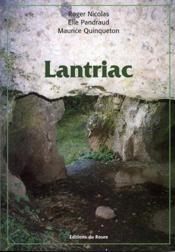 Lantriac - Couverture - Format classique