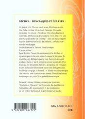 Declics, Des Claques Et Des Cles Pour Se Botter L'Entrain - 4ème de couverture - Format classique