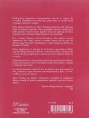 Entresilences (espagnol-francais) + 1cd - 4ème de couverture - Format classique