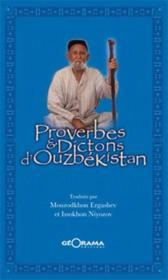 Proverbes & dictions d'Ouzbékistan - Couverture - Format classique