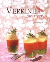 Verrines mousseuses - Couverture - Format classique