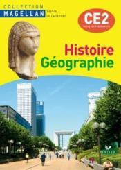 Histoire/géographie ; CE2 ; livre de l'élève (édition 2009) - Couverture - Format classique