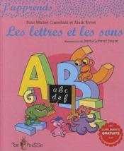 J'apprends les lettres et les sons - Couverture - Format classique