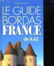 Le Guide Bordas France - Couverture - Format classique