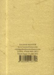 Le Pigeon Messager Ou Guide Pour L Eleve Du Pigeon Voyageur Et Son Application A L'Art Militaire - 4ème de couverture - Format classique