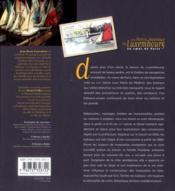 Petits bateaux du Luxembourg - 4ème de couverture - Format classique