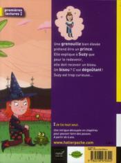 SOS sorcière ; deux bisous ensorcelés - 4ème de couverture - Format classique