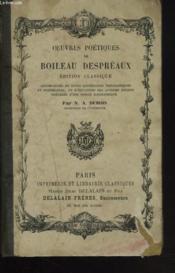 Oeuvres Poetiques. Edition Classique - Couverture - Format classique