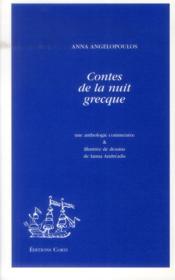 Contes de la nuit grecque ; une anthologie commentée - Couverture - Format classique