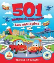 501 images à retrouver ; les véhicules - Couverture - Format classique